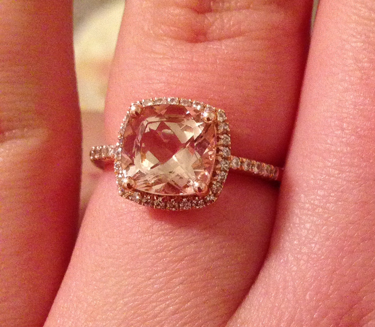 My Journey With A Morganite Engagement Ring Advice About