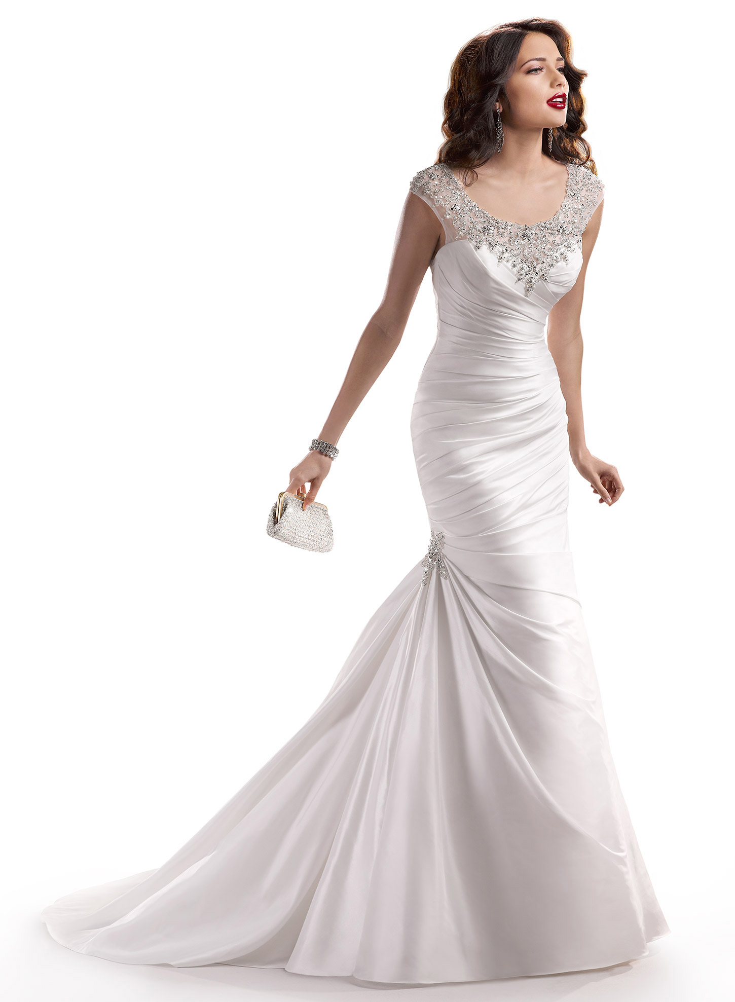 Maggie sottero landyn wedding dress for sale the knot for Maggie sottero wedding dress sale